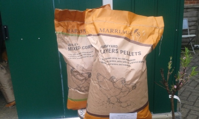 MARRIAGE'S Farmyard Layers Pellets & Mixed Corn